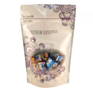 SL-605紫色愛戀六兩夾鏈立袋