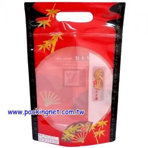 SL103-1 京都雅扇 手提夾鏈立袋