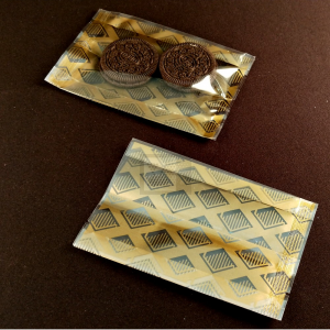 NB-85130金色菱形背封折腰袋