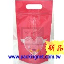 SL104 粉紅小甜心夾鏈立袋